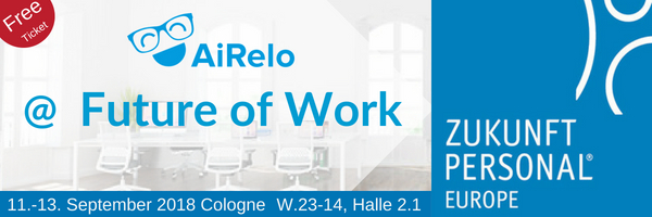 AiRelo at Future of Work at Zukunft Personal zp18 Homepage banner - Free Ticket