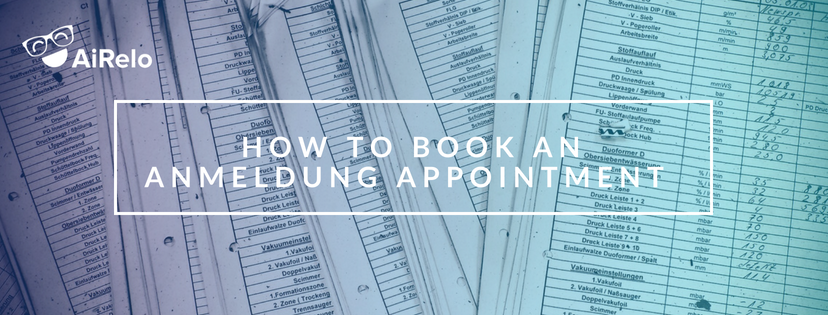 how to book anmeldung appointment