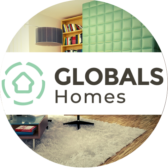 GLOBALS Jobs Circle Banner with Apartment - AiRelo
